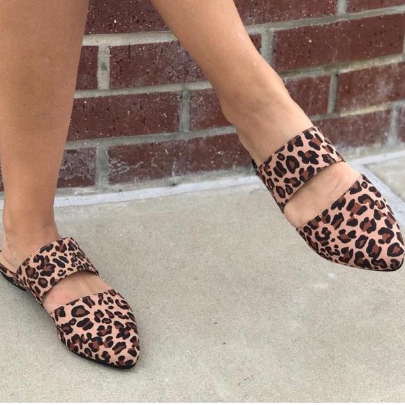 190059ac0c CL by Laundry Shoes | Enya Leopard Mule | Poshmark